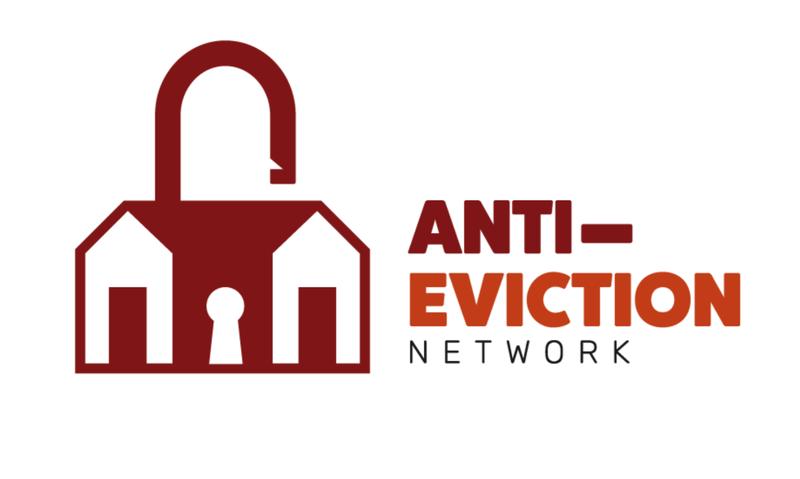 Anti-Eviction Network Logo